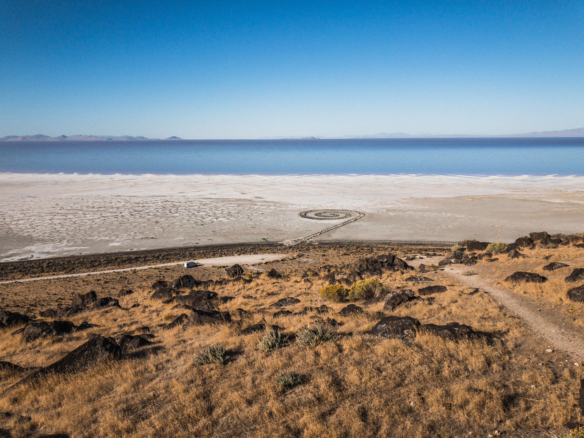 The Golden Spike & The Spiral Jetty